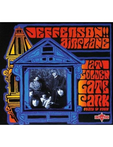 Jefferson Airplane : At Golden Gate Park 1969 (CD)