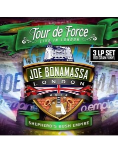 Bonamassa, Joe : Tour De Force - Live In London, Shepherd's Bush Empire (3-LP)