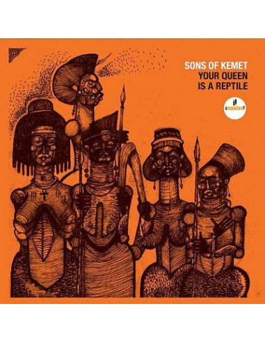 Sons of Kemet : Your Queen is a reptile (CD)