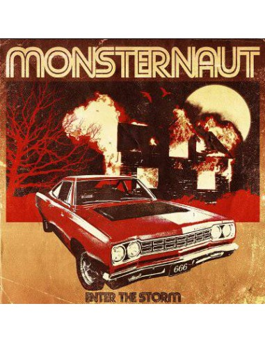 Monsternaut : Enter The Storm (LP) yellow vinyl