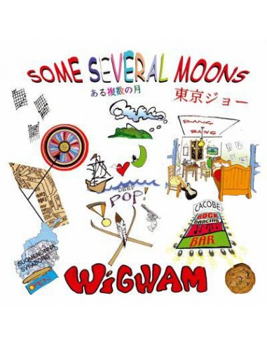 Wigwam : Some Several Moons (2-LP) red vinyl
