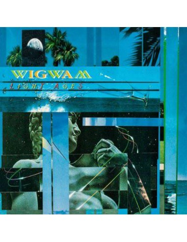 Wigwam : Light Ages (2-LP) blue vinyl