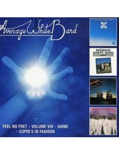 Average White Band : Feel No Fret / Volume VIII / Shine / Cupid's In Fashion (2-CD)