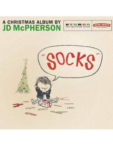 "McPherson, JD : ""Socks"" - A Christmas Album (LP)"