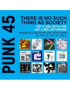 Punk 45 : There Is No Such Thing As Society - Vol. 2 (2-LP)