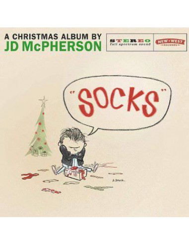 "McPherson, JD : ""Socks"" - A Christmas Album (CD)"