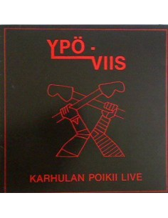 Ypö-Viis : Karhulan Poikii Live (LP)