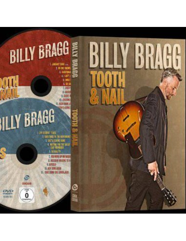 Bragg, Billy : Tooth & Nail (CD + DVD) deluxe