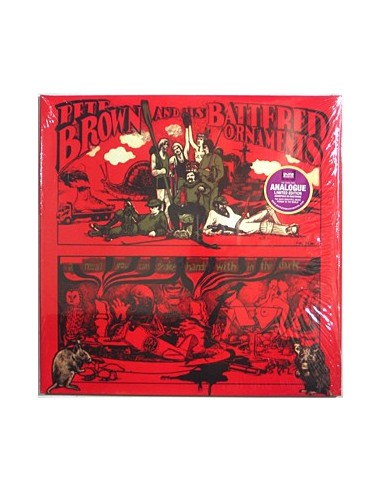 Brown, Pete & His Battered Ornaments : A Meal You Can Shake Hands With In The Dark (2-LP)