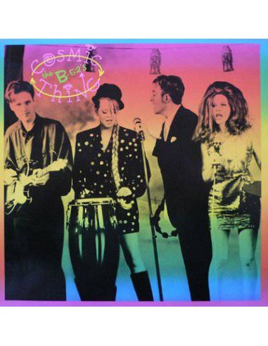 B-52's : Cosmic Thing (LP) RSD, rainbow vinyl