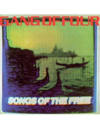 Gang Of Four : Songs Of The Free (LP) splatter vinyl