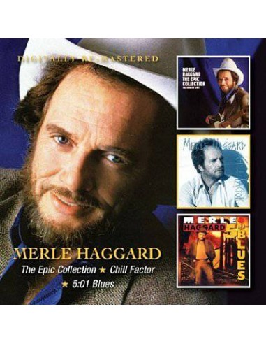 Haggard, Merle : Epic Collection / Chill Factor / 5.01 Blues (2-CD)