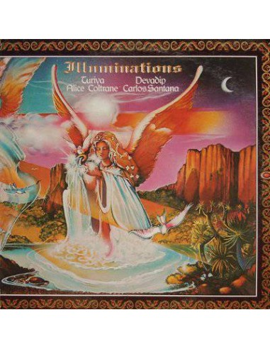 Carlos Santana, Alice Coltrane : Illuminations (LP)