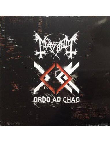 Mayhem : Ordo Ad Chao (LP) Orange Vinyl