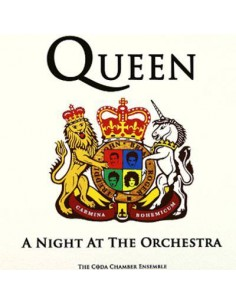 Coda Chamber Ensemble : Queen - A Night At The Orchestra (CD)