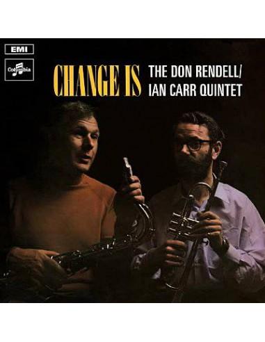 Don Rendell / Ian Carr Quintet : Change is (LP)