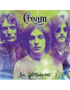 Cream : Live... Stockholm 1967 (LP)