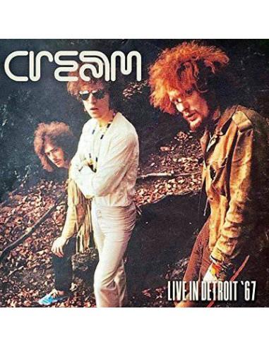Cream : Live In Detroit '67 (2-LP)