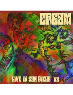 Cream : Live In San Diego '68 (2-LP) Coloured Vinyl