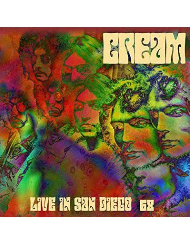 Cream : Live In San Diego '68 (2-LP) Coloured Vinyl
