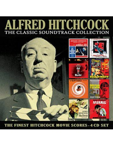 Alfred Hitchcock - the classic soundtrack collection (4-CD)