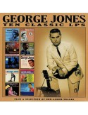 Jones, George : Ten Classic LP's (4-CD)