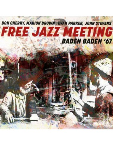 Free Jazz Meeting : Baden Baden '67 (CD)