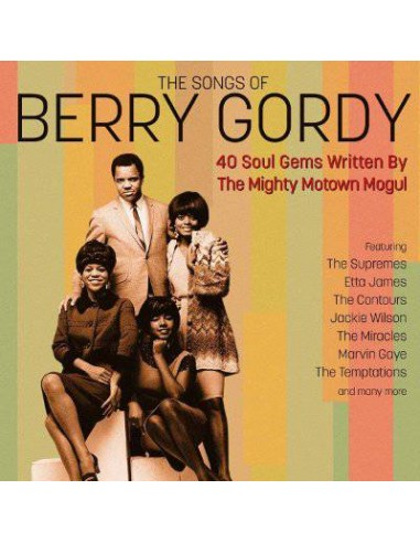 The Songs Of Berry Gordy (2-CD)