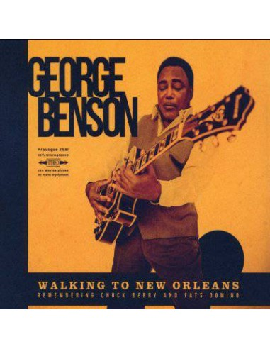Benson, George : Walking To New Orleans (Remembering Chuck Berry And Fats Domino) (LP)