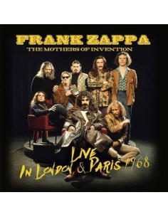 Zappa, Frank + The Mothers Of Invention : Live In Paris And London 1968 (CD)