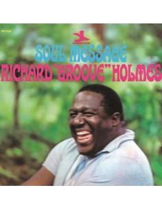 "Holmes, Richard ""Groove"" : Soul Message (LP)"