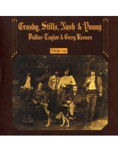 Crosby, Stills, Nash & Young : Déjà Vu (CD)