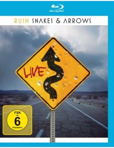 Rush : Snakes & Arrows Live (BluRay)