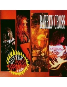 Barren Cross : Hotter Than Hell! Live (2-LP)