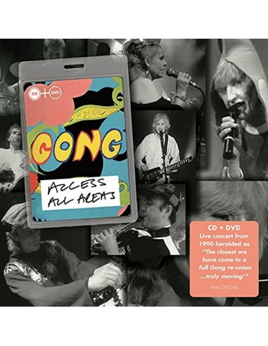 Gong : Access All Areas (CD + DVD)