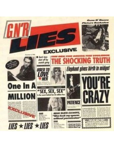Guns N' Roses : G N' R Lies (LP)