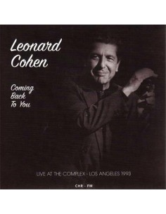 Cohen, Leonard : Coming Back To You: Live At The Complex – L.A 1993 (CD)